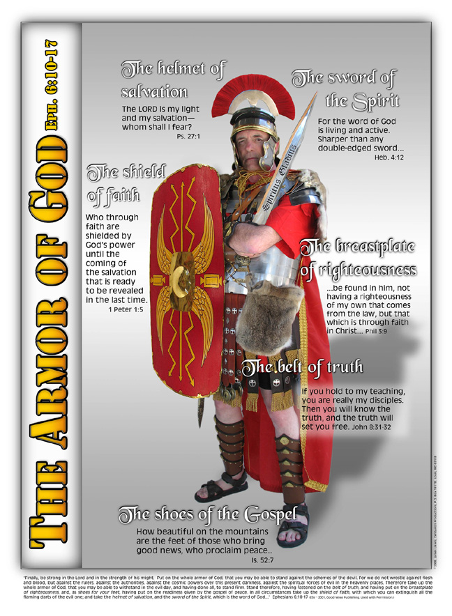 armor of god activities for kids